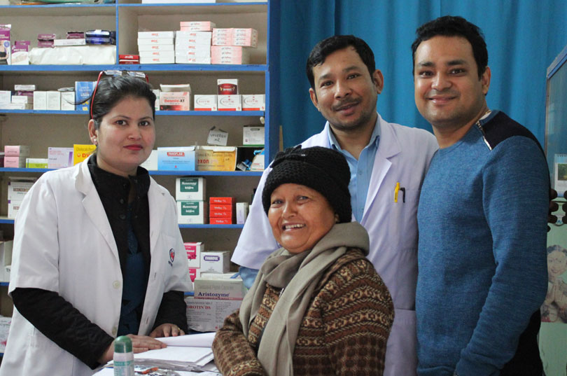 Pharmacy of Sukhi Pariwar Clinic